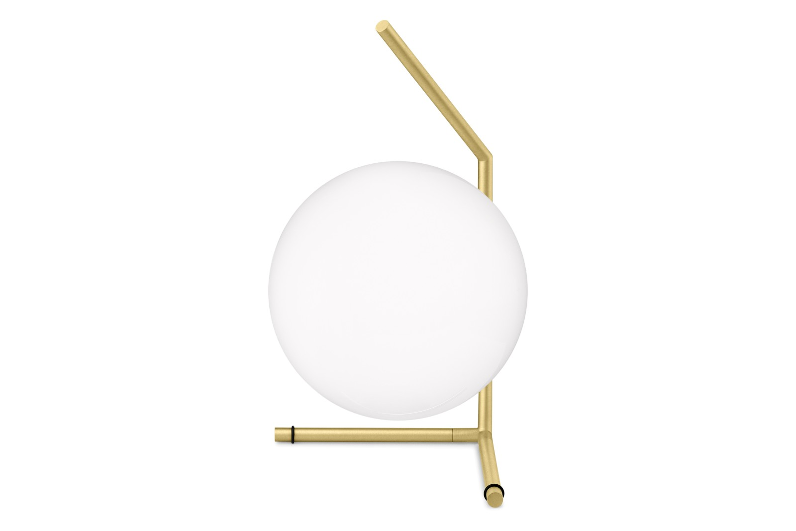 IC T1 Low Table Lamp Brushed Brass