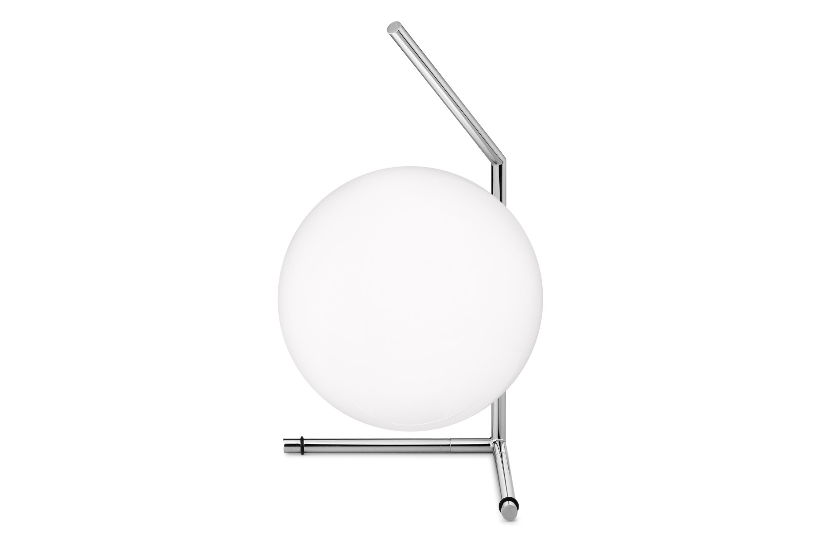 IC T1 Low Table Lamp Chromed Steel