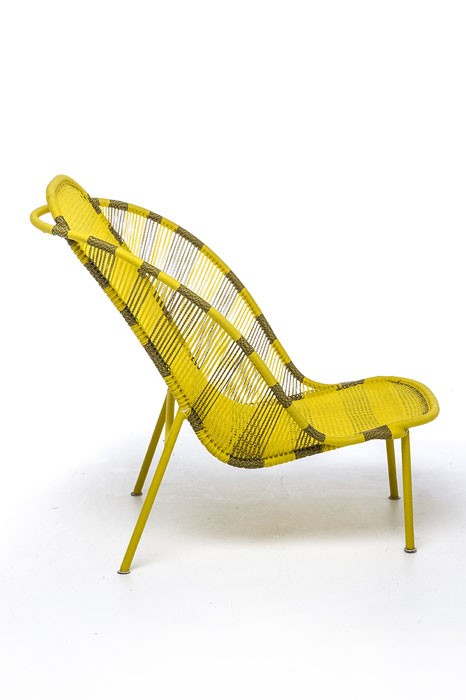 Imba Armchair Yellow African Gold