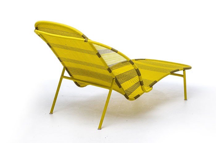 Imba Chaise Longue Yellow African Gold