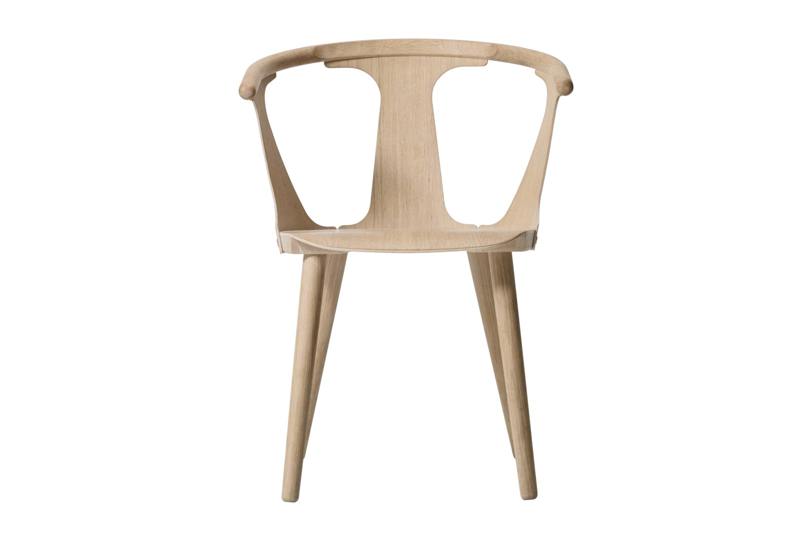 In Between SK1 Dining Chair - set of 2 White oiled oak