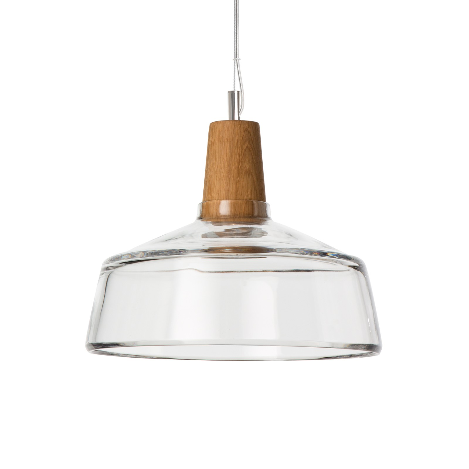 Industrial 26/14P Pendant Light Clear
