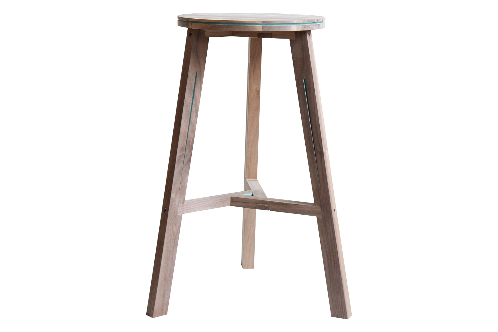 Interstice Stool Walnut
