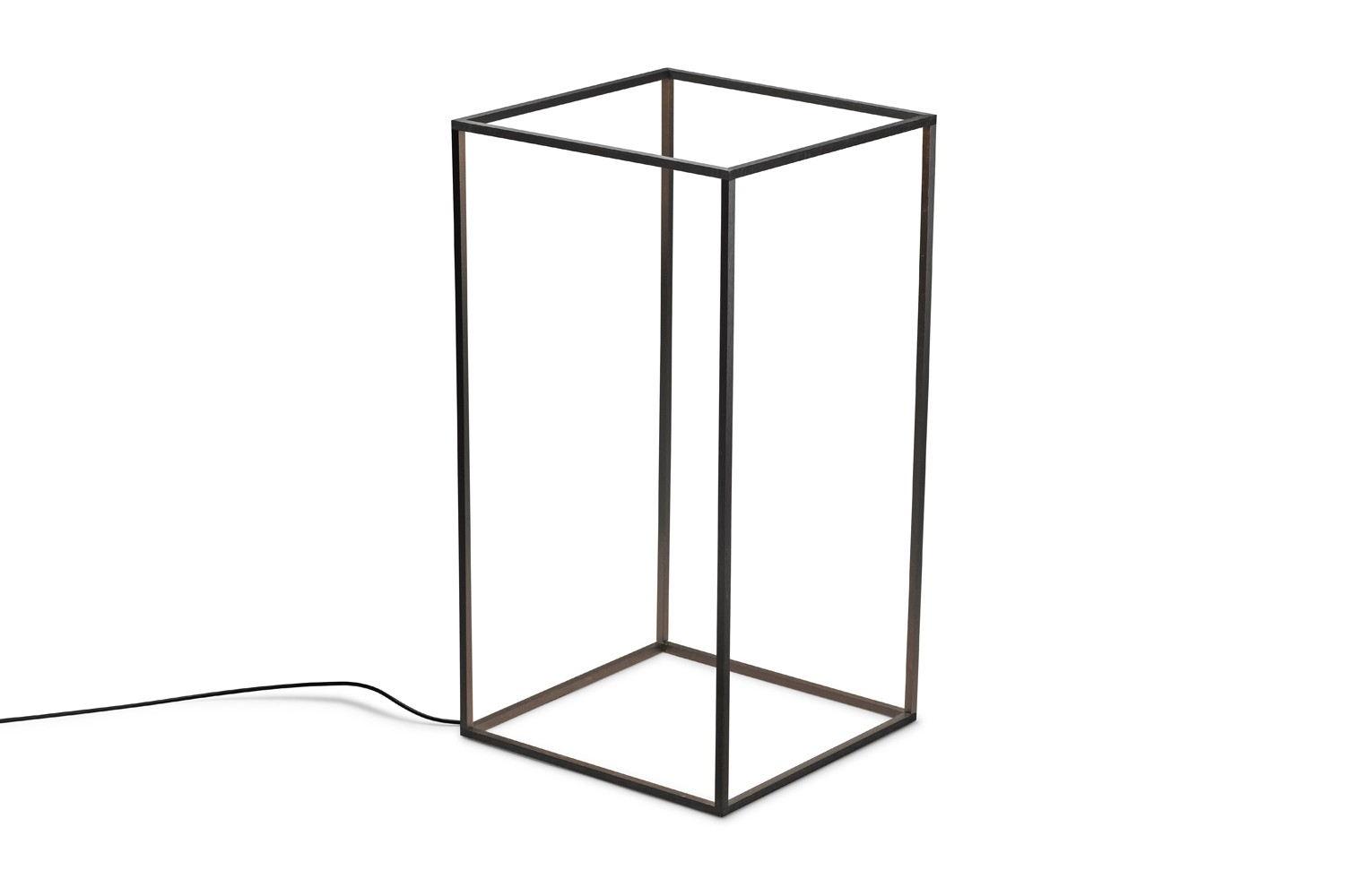 Ipnos Outdoor Floor Lamp Black Anodized