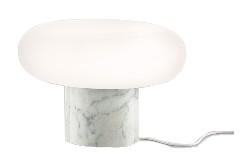Itka Base Table Lamp Carrara Marble