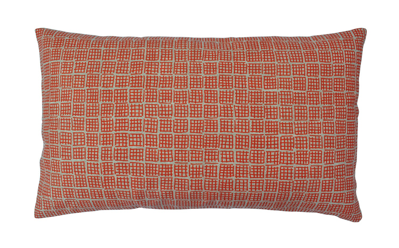 Ivor Long cushion Orange