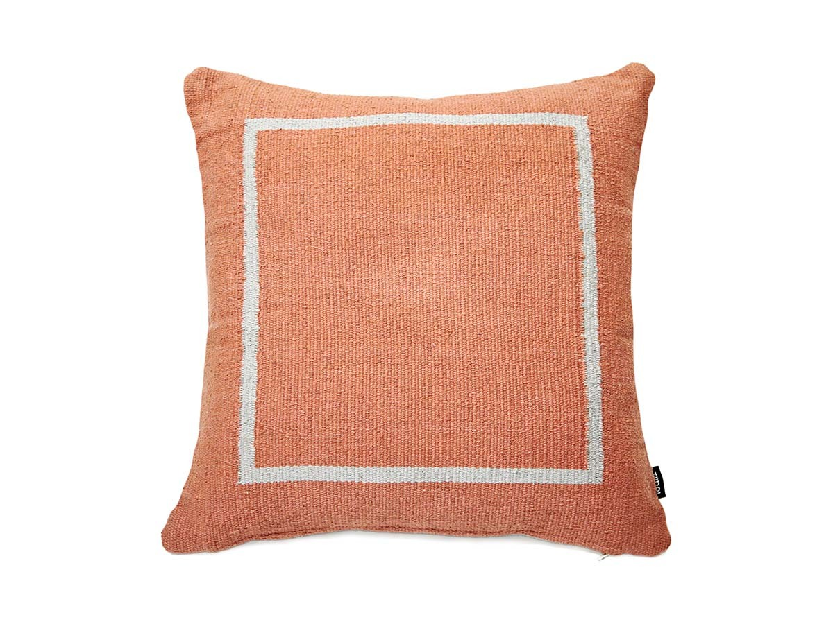 Jama-Khan Cushion Terracotta Square Cushion