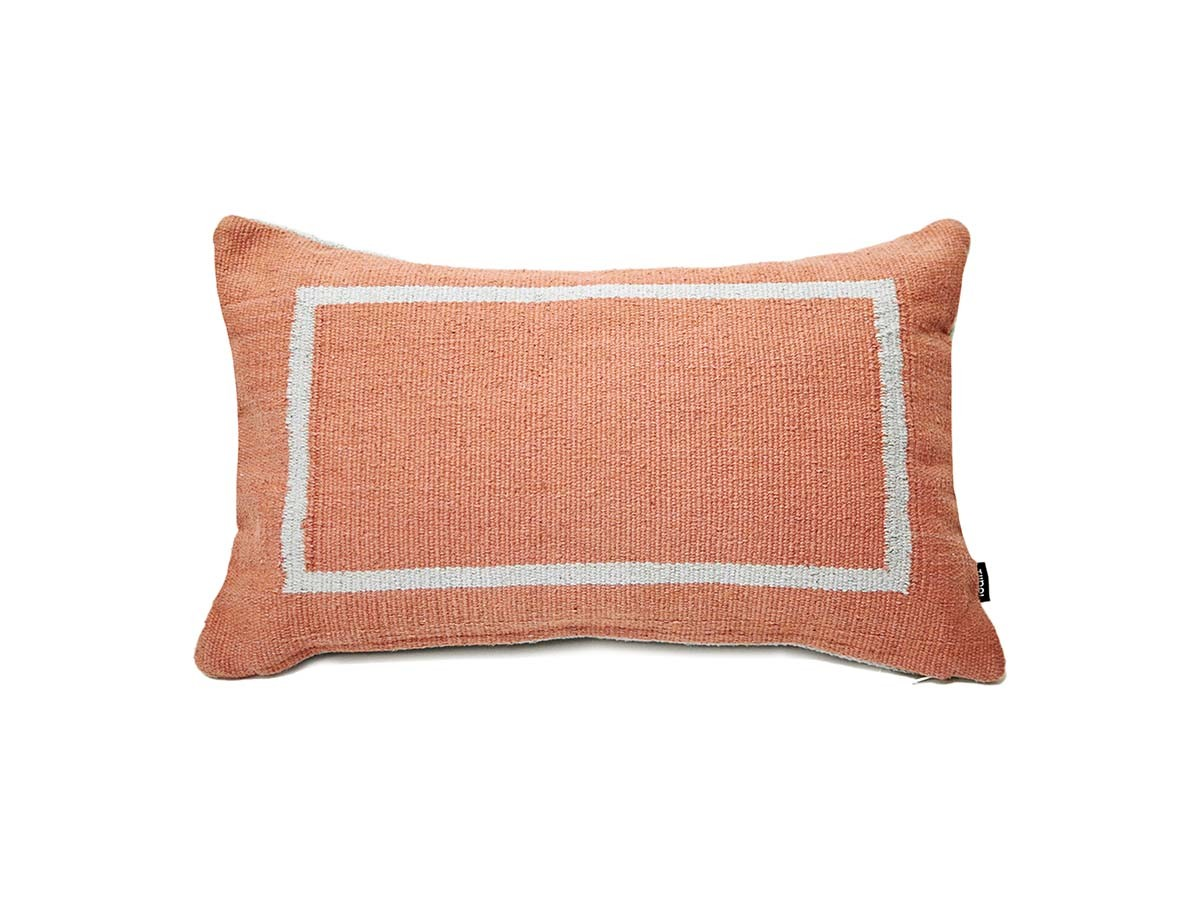 Jama-Khan Cushion Terracotta Rectangle Cushion