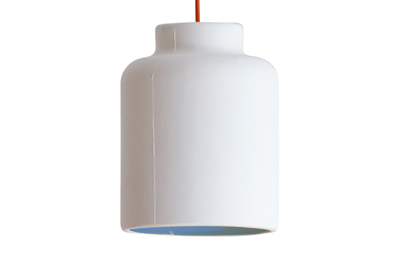 Jar Spun Pendant Light Blue