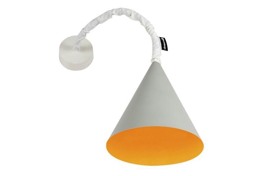 Jazz A Wall Light Grey, Orange