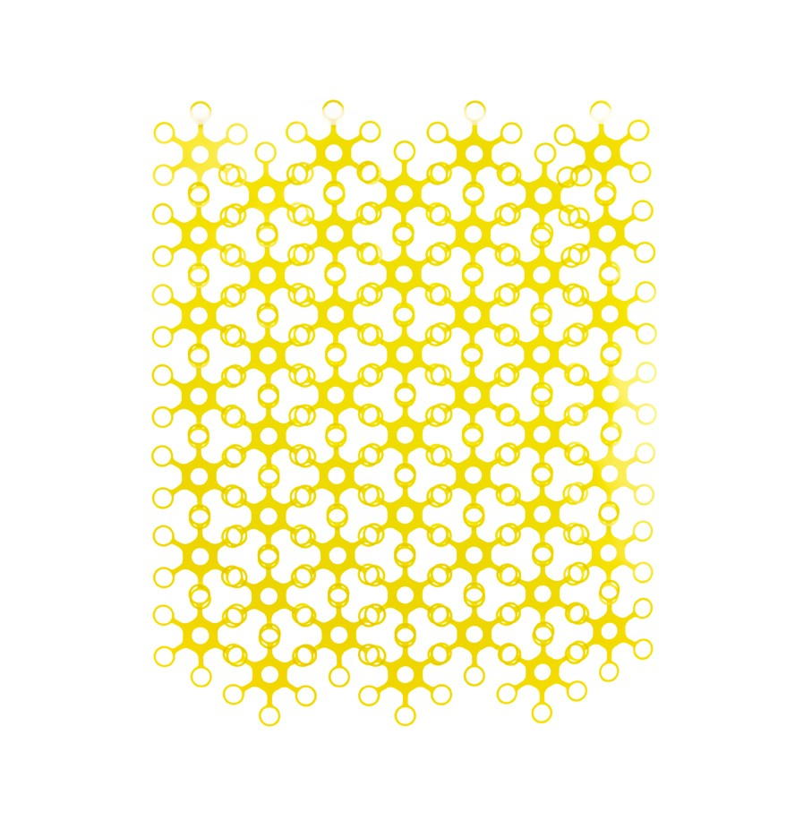 Joyn Original - Space divider, curtain, wall art. and more! Yellow