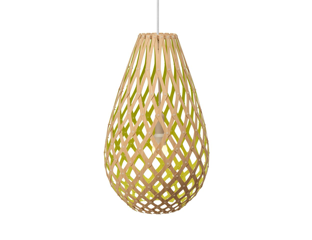Koura Pendant Light Lime, 50