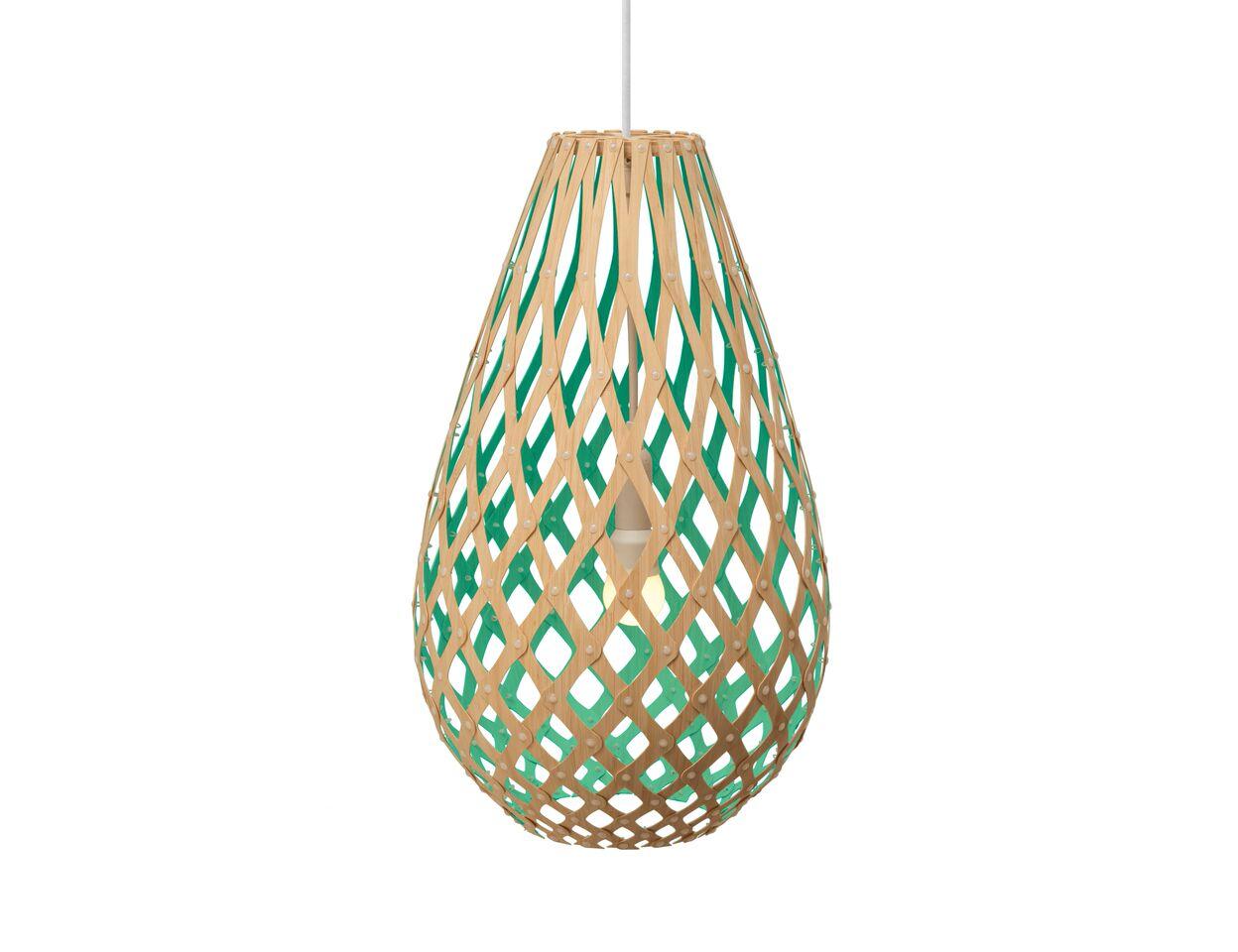 Koura Pendant Light Aqua, 50