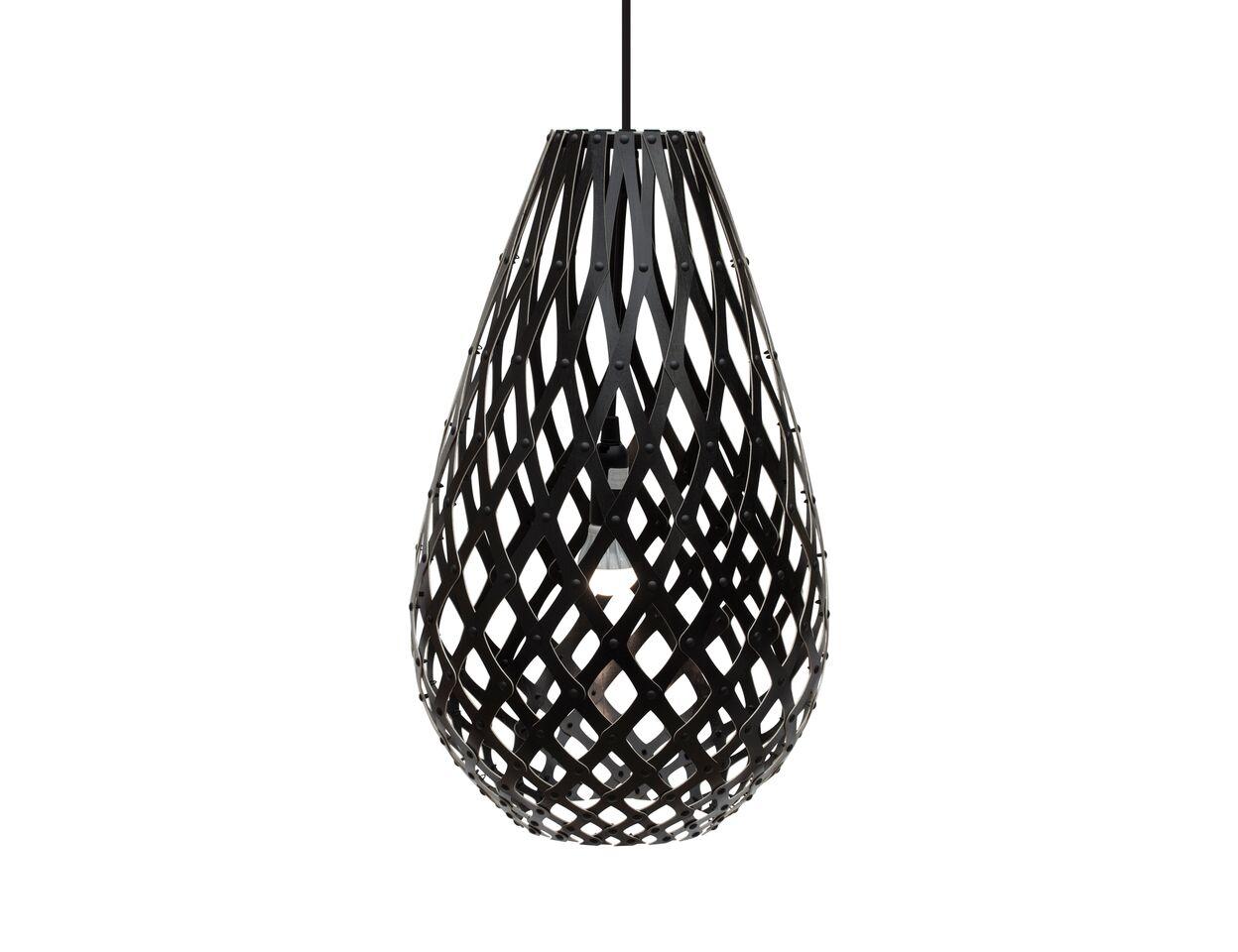 Koura Pendant Light Black 2 Sides, 50