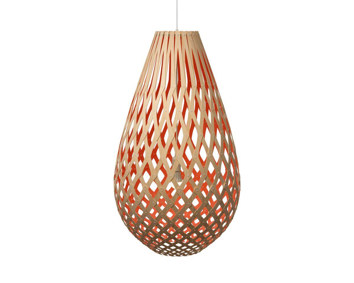 Koura Pendant Light Red, 75