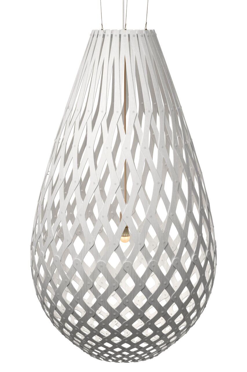 Koura Pendant Light White 2 Sides, 160