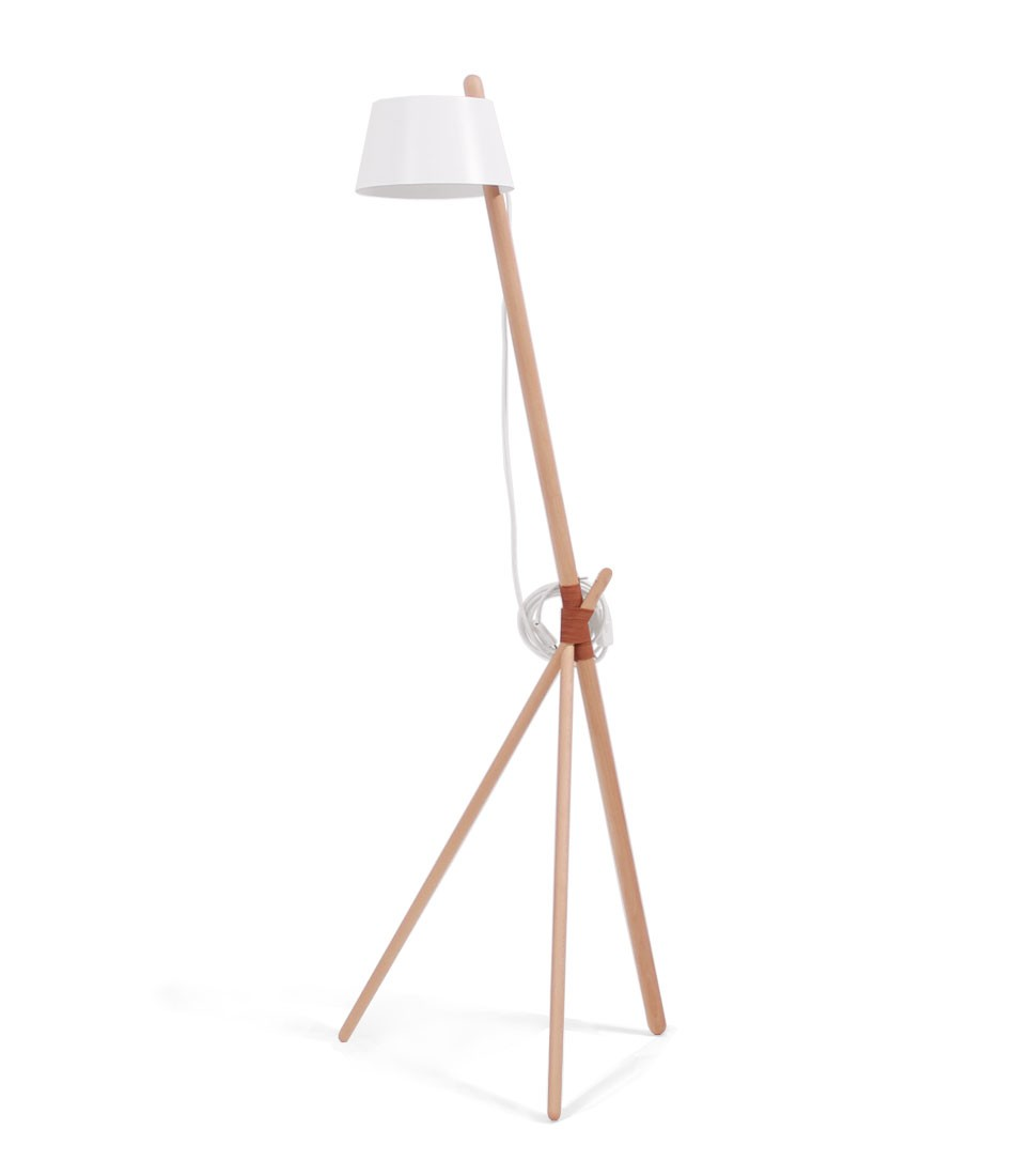 Ka M - Floor Lamp White