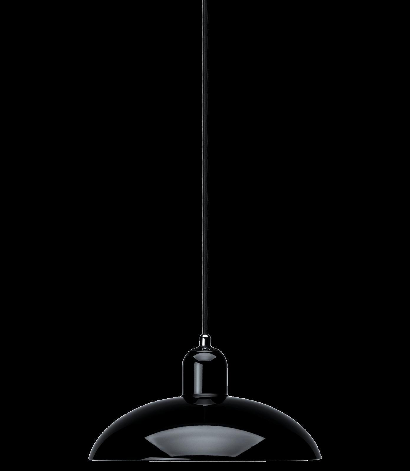 Kaiser Idell Pendant Lamp Black