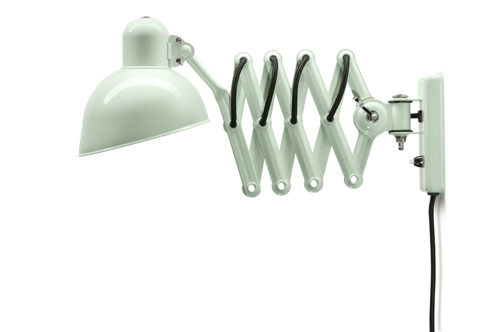 Kaiser Idell Stretchable Swivel Wall Lamp White
