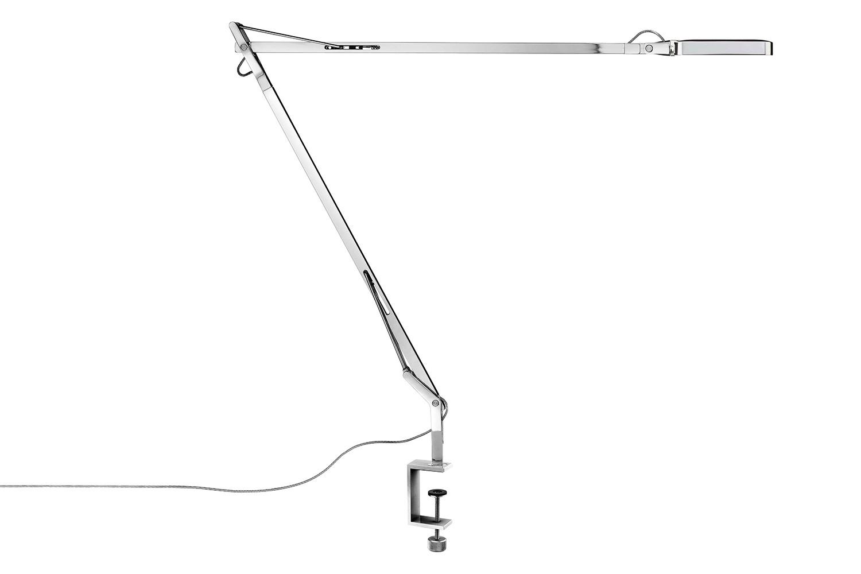 Kelvin Clamp Lamp Chrome