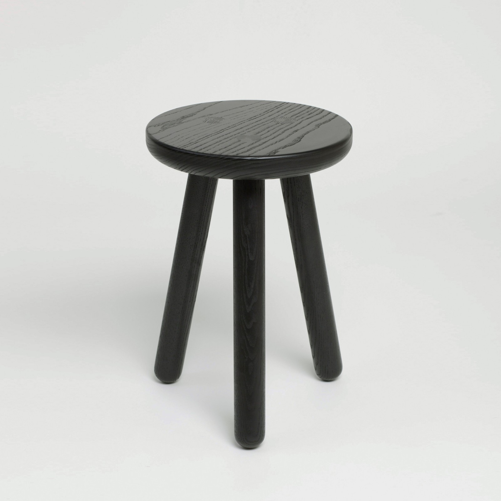 Kids Stool Black