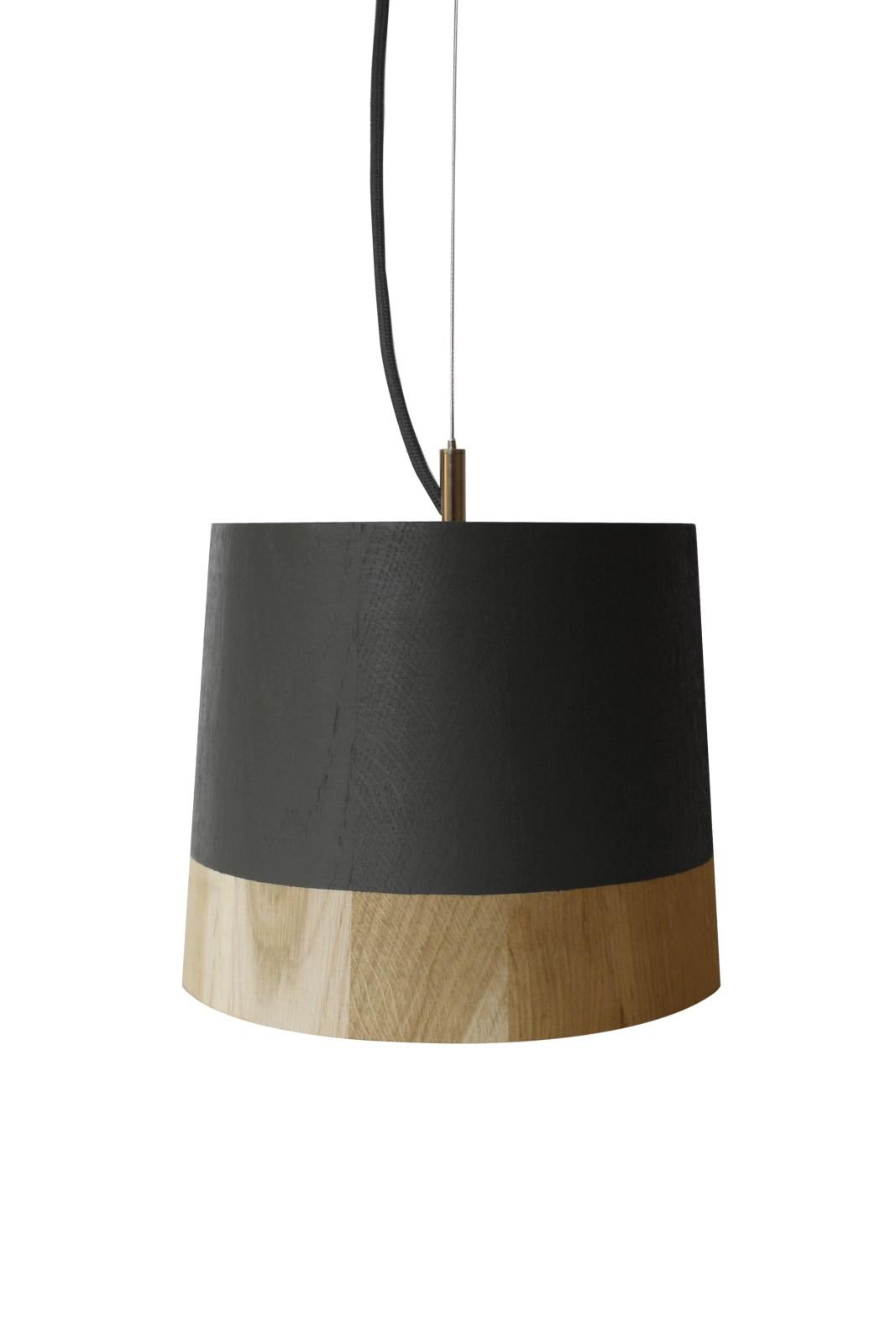 KIKKE & HEBBE Boost Pendant Lamp Wood Mist Grey