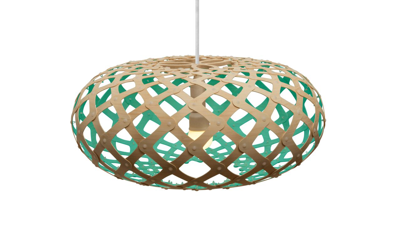 Kina Pendant Light Aqua, 44