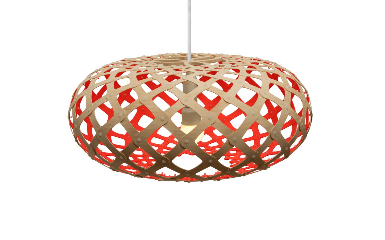 Kina Pendant Light Red, 44