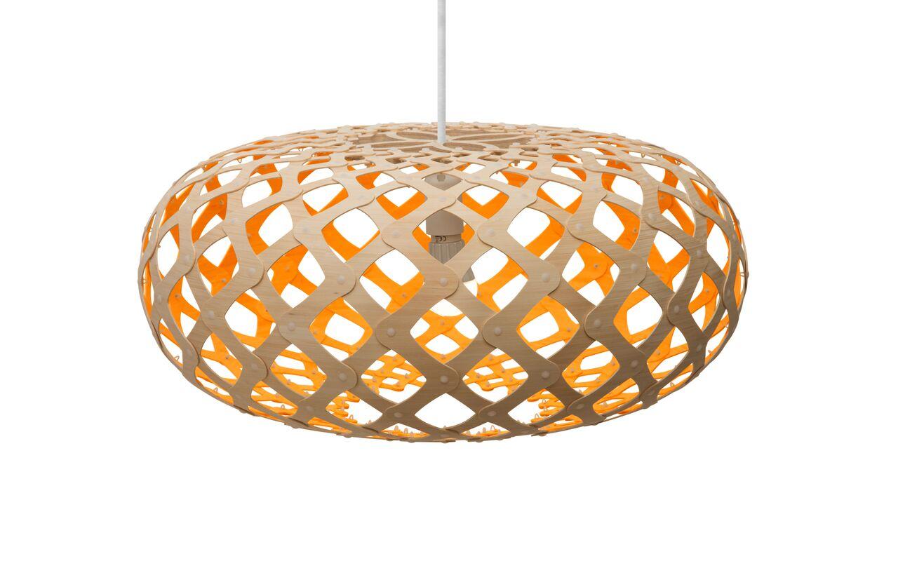 Kina Pendant Light Orange, 60