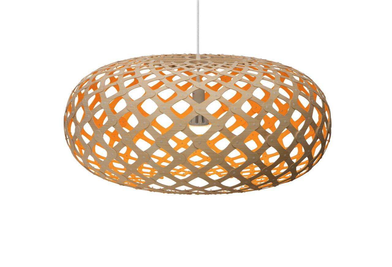 Kina Pendant Light Orange, 80