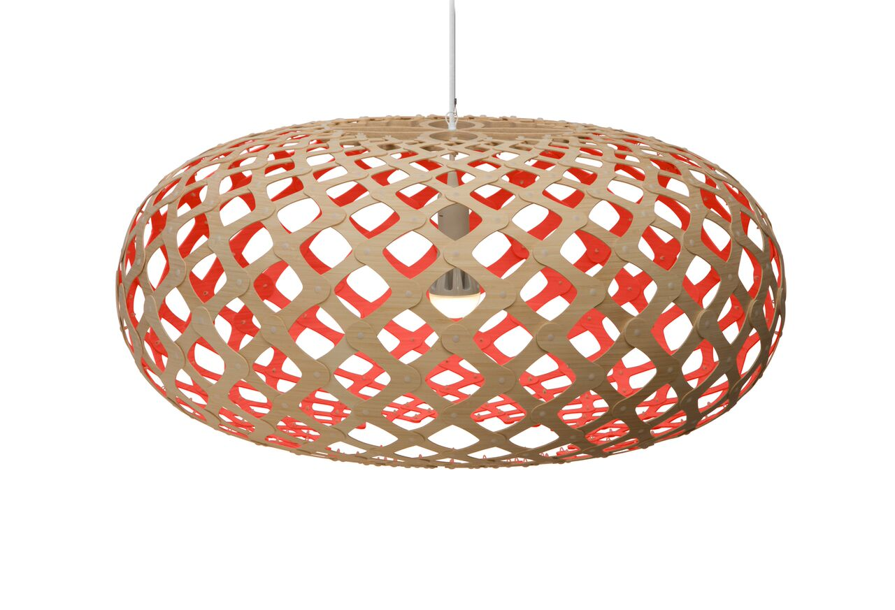 Kina Pendant Light Red, 100