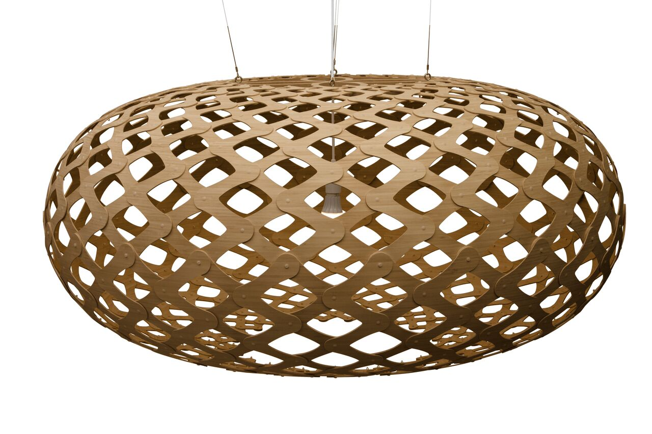 Kina Pendant Light Caramel, 140