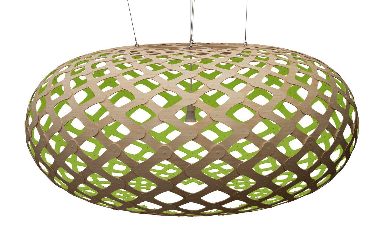 Kina Pendant Light Lime, 140