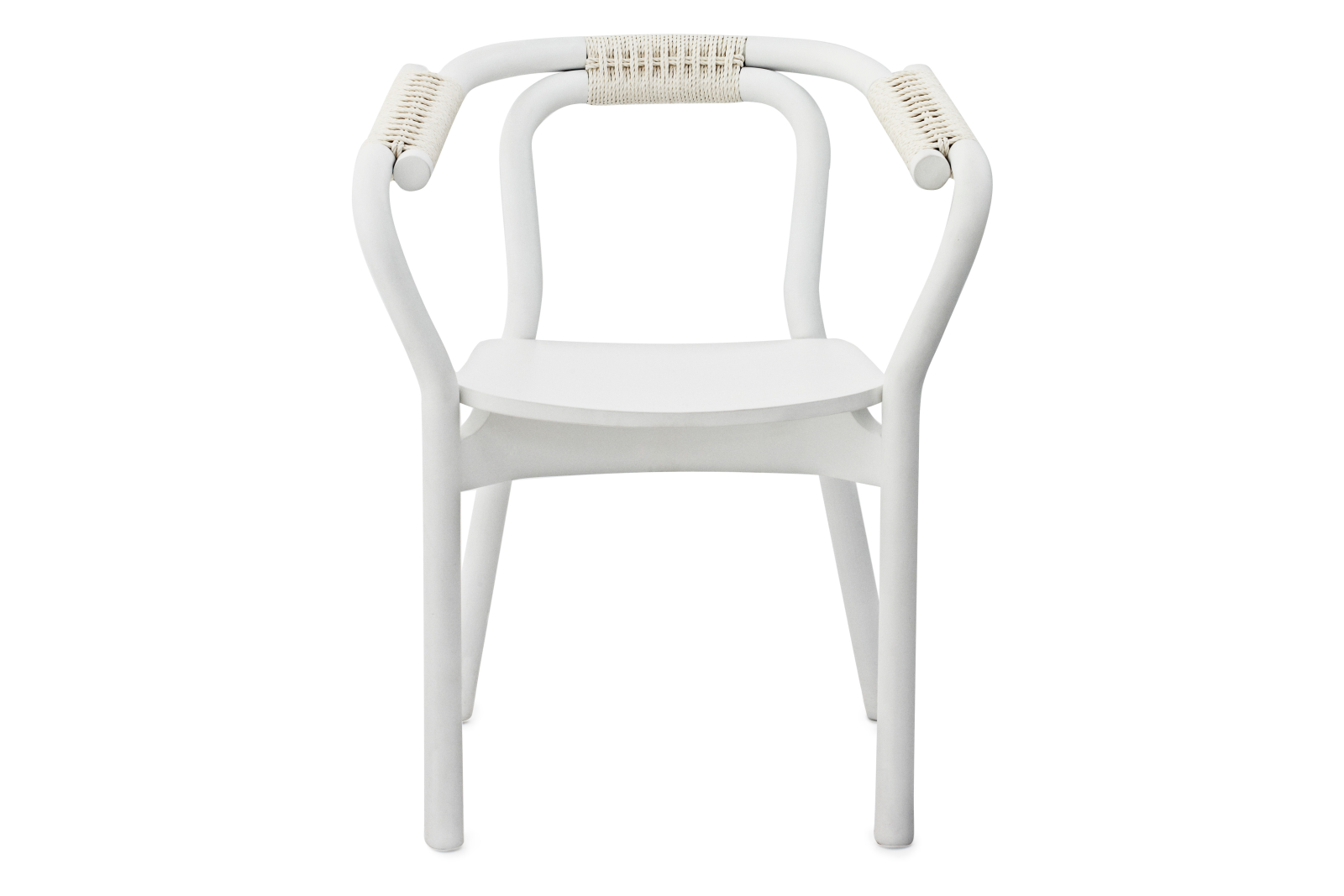 Knot Chair White/White