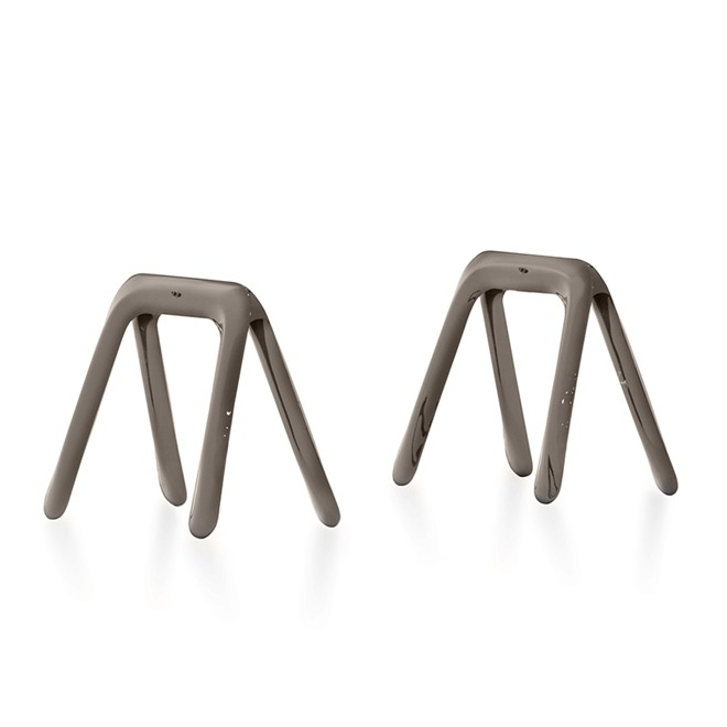 Kozka Pair of Little Trestles Inox