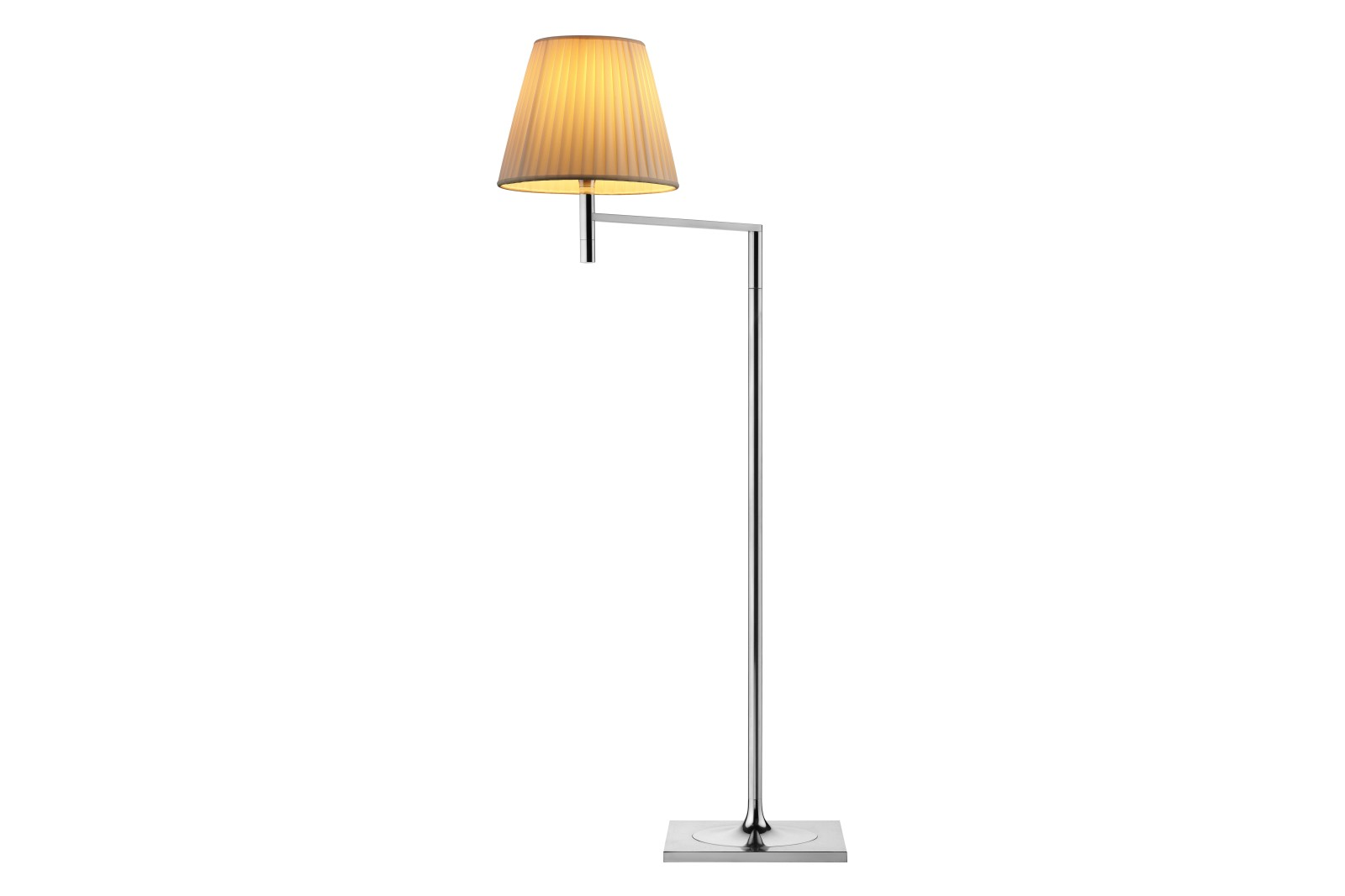 Ktribe F1 Floor Lamp Fabric, Neutral