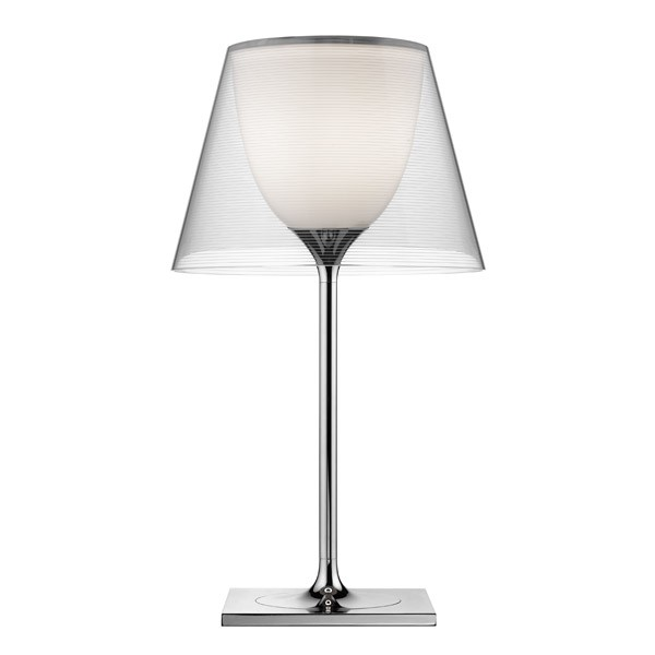 Ktribe T1 Table Lamp Transparent, LED