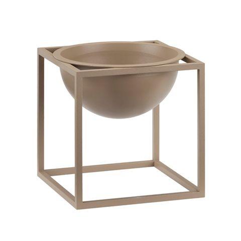 Kubus Bowl - Set of 2 23 x 23 cm, Beige