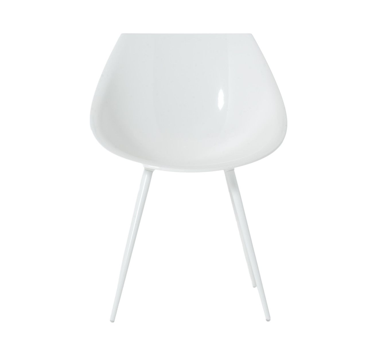 Lagò Lacquered Chair White