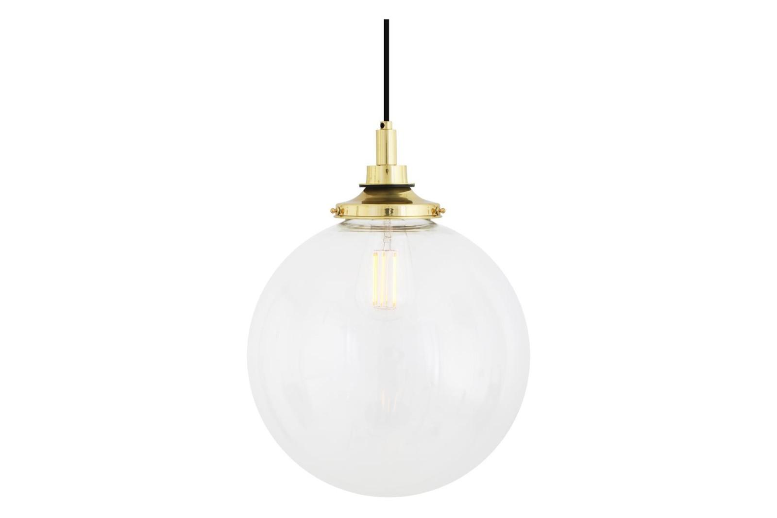 Laguna 30 cm Pendant Light Polished Brass