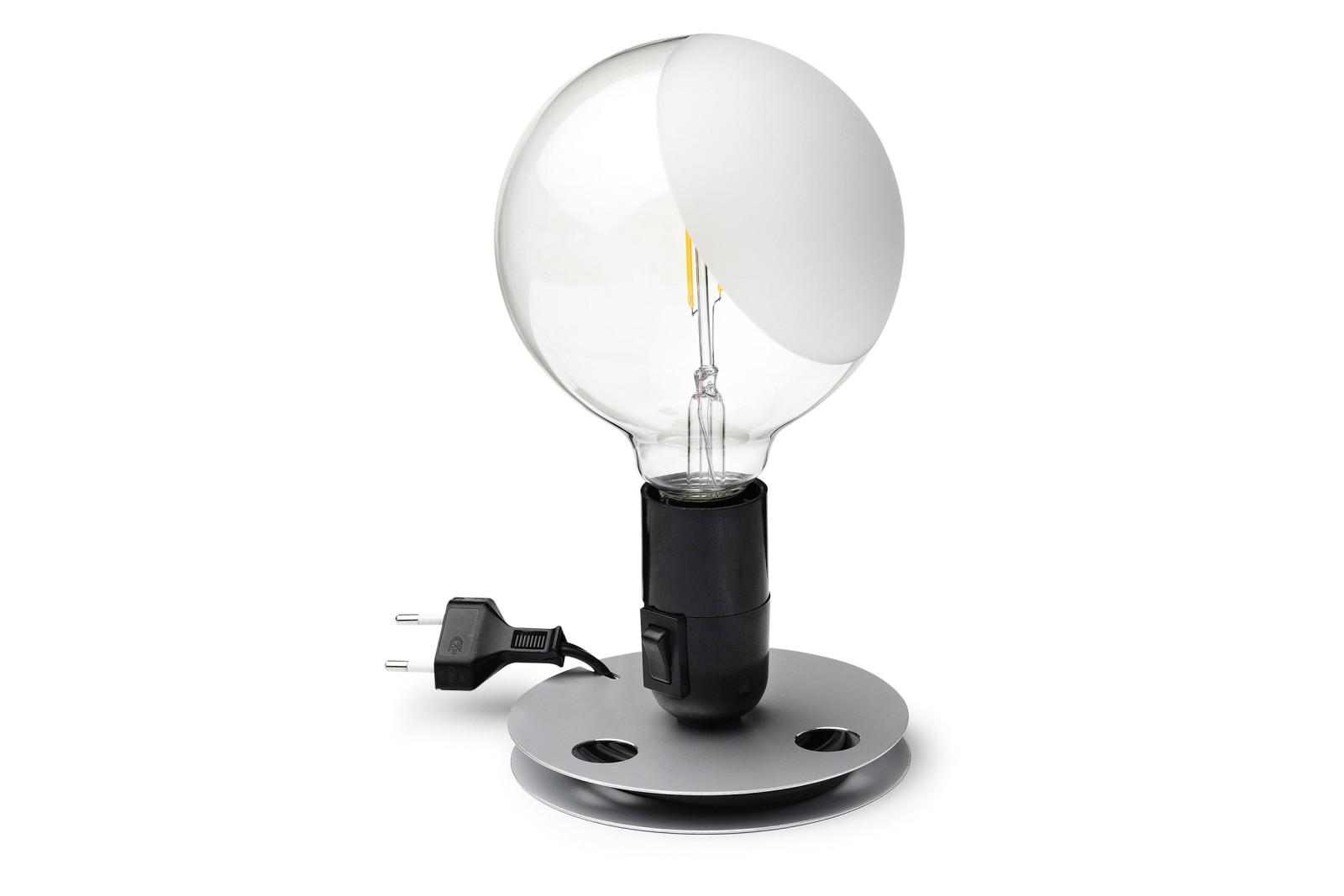 Lampadina Table Lamp Black