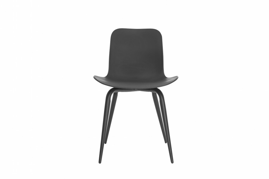 Langue Avantgarde Dining Chair, Black Anthracite Black