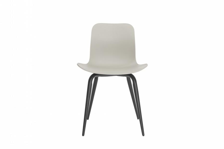 Langue Avantgarde Dining Chair, Black Flint Grey