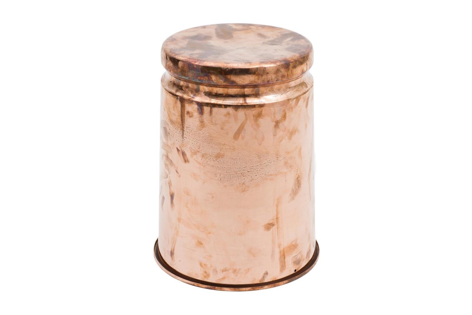 Last Stool Copper Polished