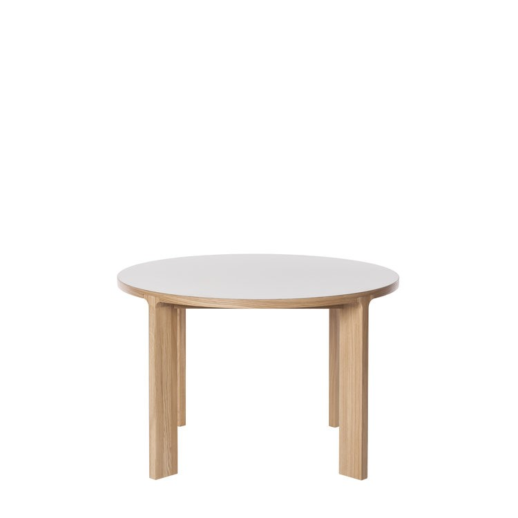 Lastra Round Dining Table Mushroom