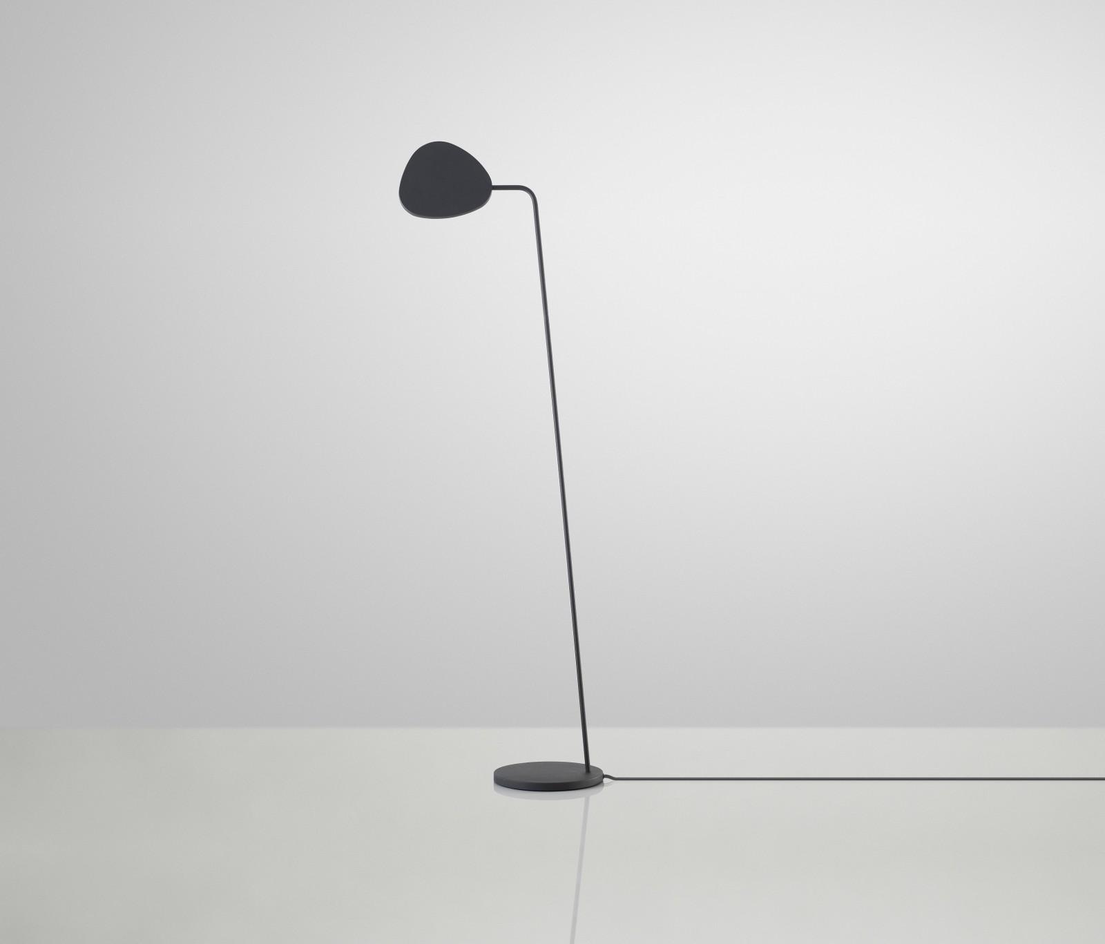 Leaf Floor Lamp Black