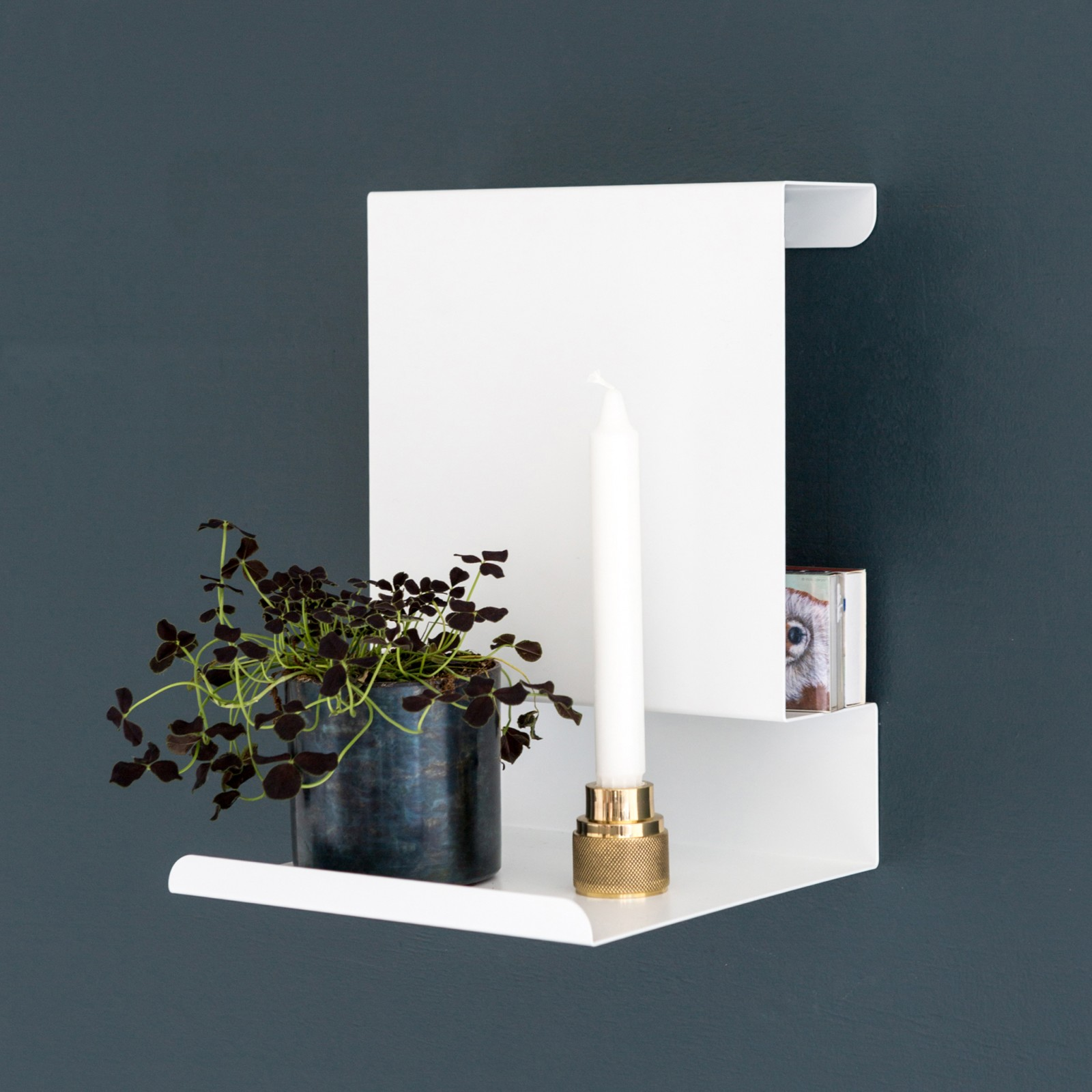 Ledge: able Shelf White