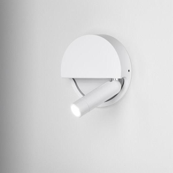 Ledtube R Wall Light Marset - White, Right