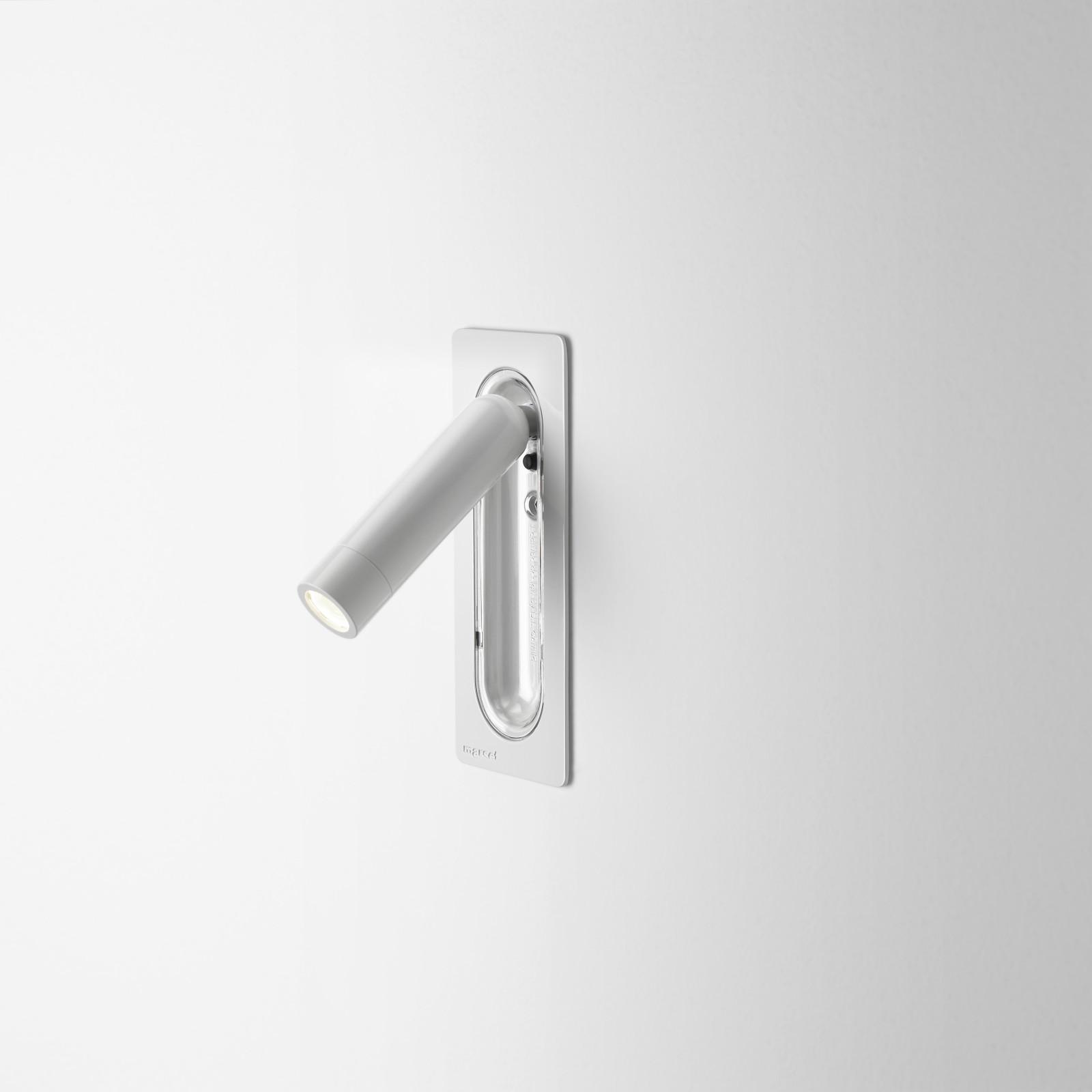 Ledtube Wall Light Marset - White