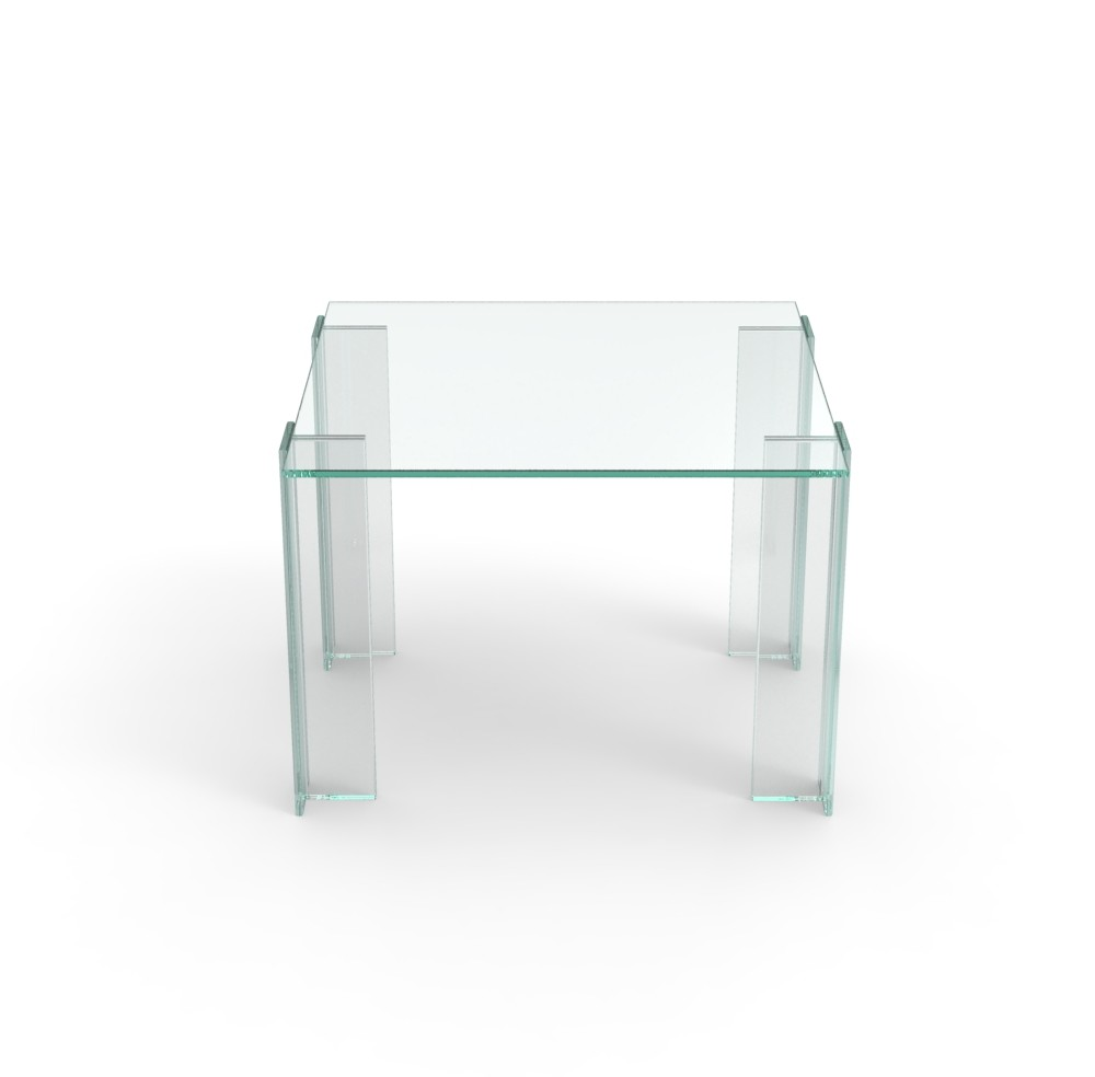 Leggero Coffee Table Transparent, Small